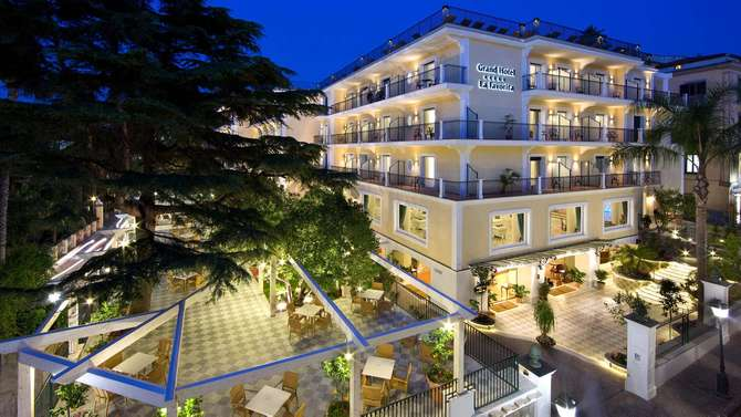 Grand Hotel La Favorita Sorrento