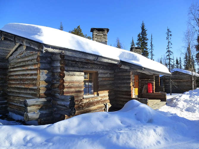 Lapland Silver Pine Cabins Luosto