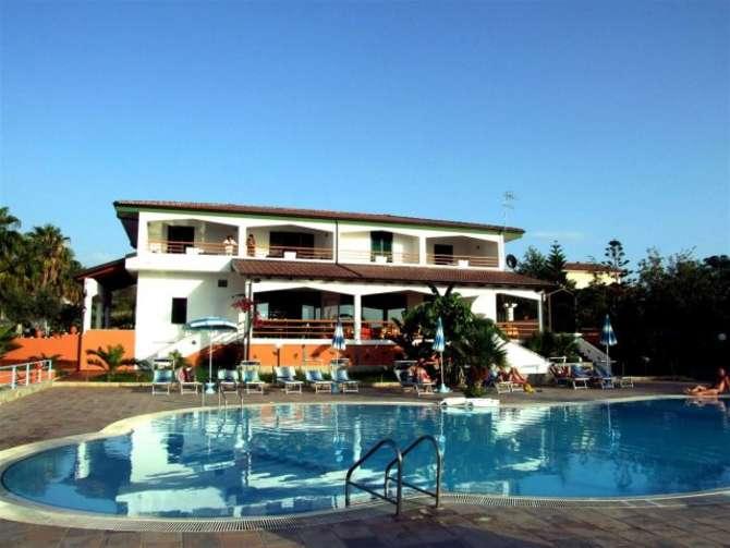 Hotel Residence Santa Monica Capo Vaticano
