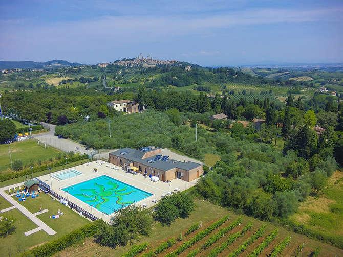 Camping Boschetto Di Piemma San Gimignano