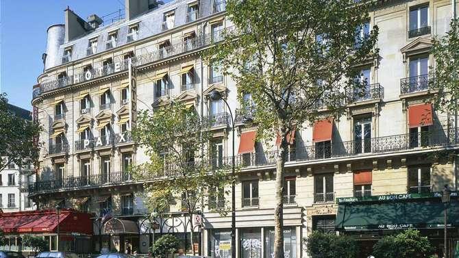 Hotel Paix Republique Parijs