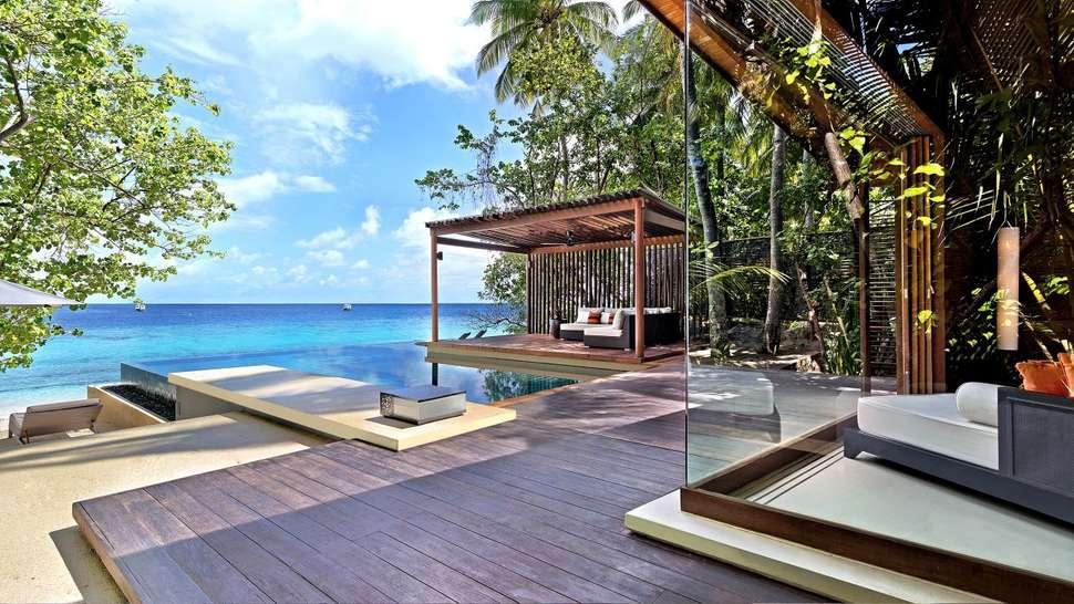 Goedkope zonvakantie Malediven 🏝️Park Hyatt Maldives Hadahaa