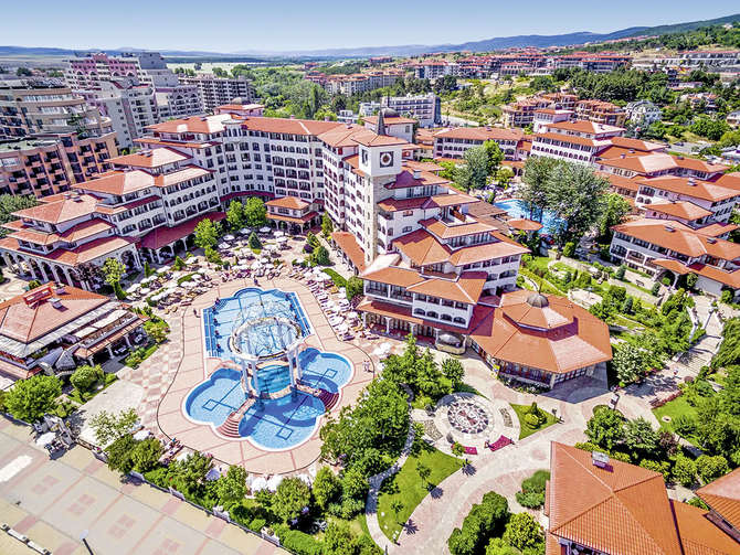 Royal Palace Helena Sands Hotel Sunny Beach