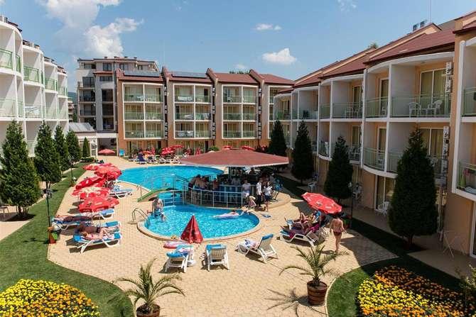 Sun City Hotel & Appartementen Sunny Beach