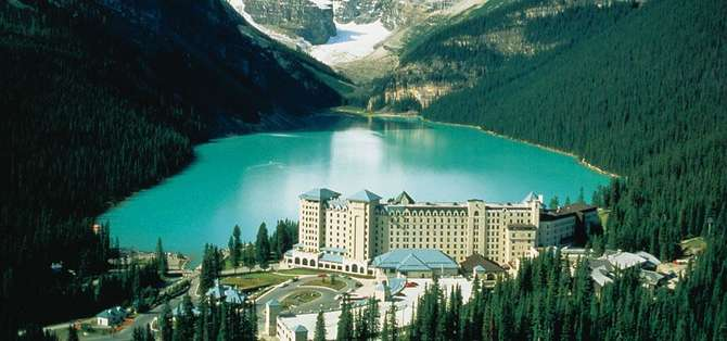 The Fairmont Chateau Lake Louise Lake Louise