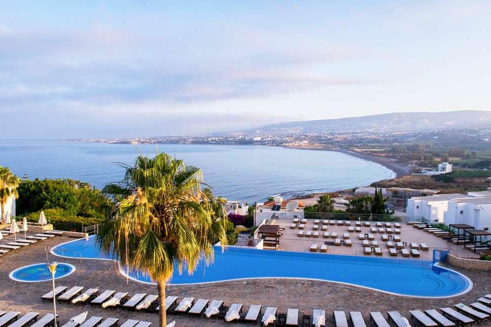 Last minute vakantie Cyprus 🏝️Theo Sunset Bay Hotel