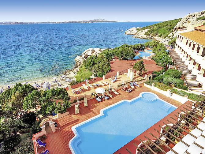 Grand Hotel Smeraldo Beach Baja Sardinia