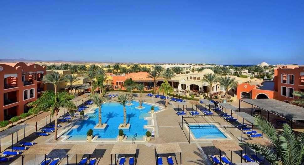 Goedkope zonvakantie Rode Zee 🏝️Jaz Dar El Madina