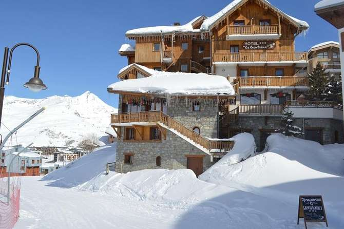 Hotel Le Gentiana Tignes