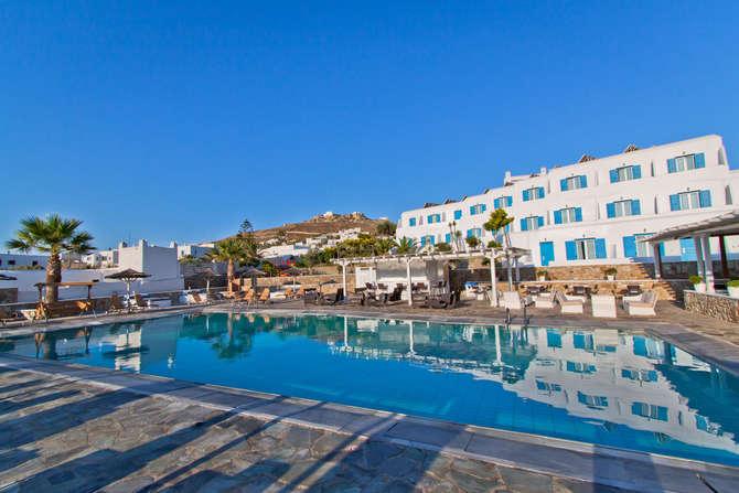 Yiannaki Hotel Mykonos-Stad