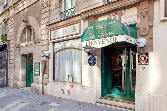 Hotel Des Arenes Parijs