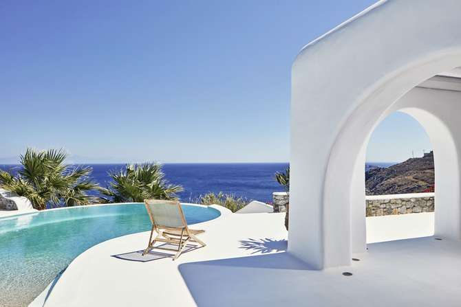 My Mykonos Retreat Villa's Ornos
