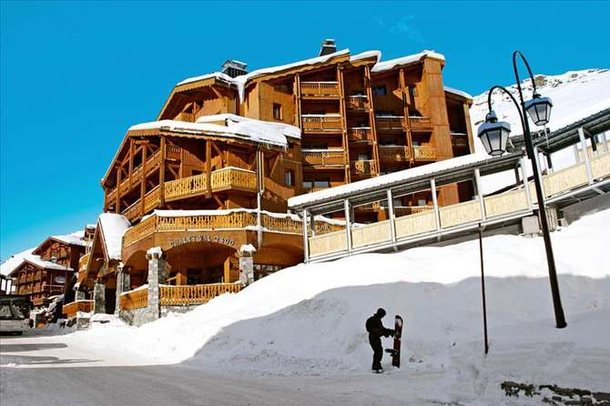 Madame Vacances Le Chalet Val 2400 Val Thorens