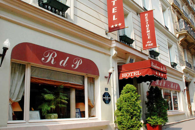 Hotel Residence du Pre Parijs