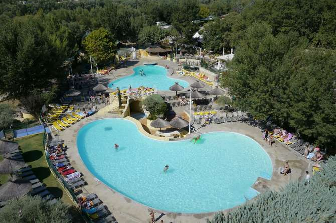 Camping l'Hippocampe Volonne