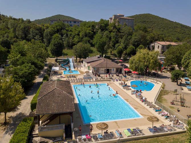 Camping La Bastide en Ardeche Sampzon