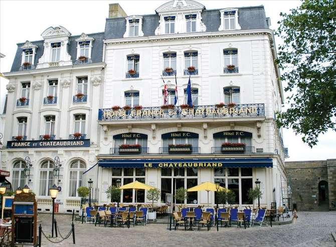 Hotel France & Chateaubriand Saint-Malo