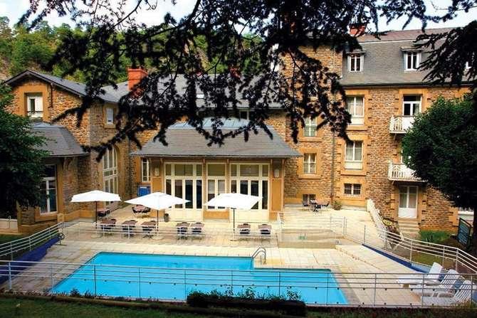 Hotel les Bains Romains Saint-Nectaire