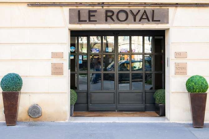 Hotel Le Royal Parijs