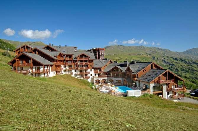 Residence Les Alpages du Corbier Le Corbier