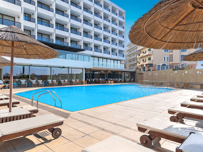 Blue Sky City Beach Hotel Rhodos-Stad