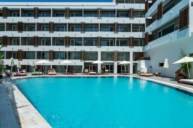 Continental Hotel Appartementen Rhodos-Stad