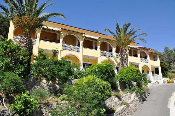 Appartementen Mazis Agios Gordios