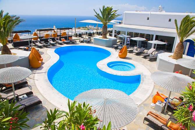 Elysium Hotel Mykonos-Stad