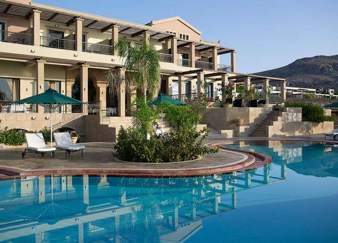 Mitsis Lindos Memories Resort Beach Hotel Lindos