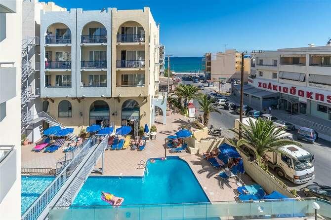 Lefkoniko Beach Hotel Rethymnon
