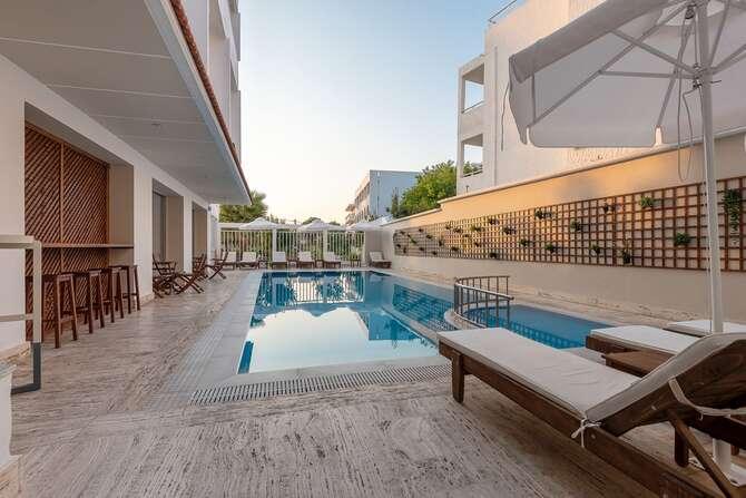 Hotel Zephyros Kos-Stad