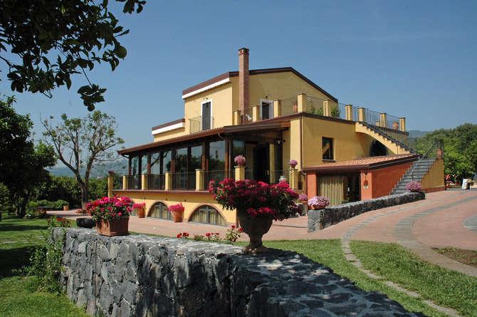 Agriturismo Feudogrande Vicino Taormina Fiumefreddo di Sicilia