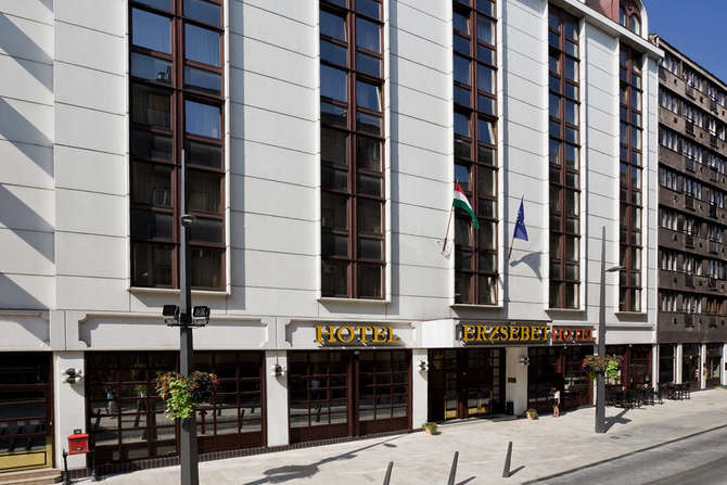 Hotel Erzsebet Boedapest