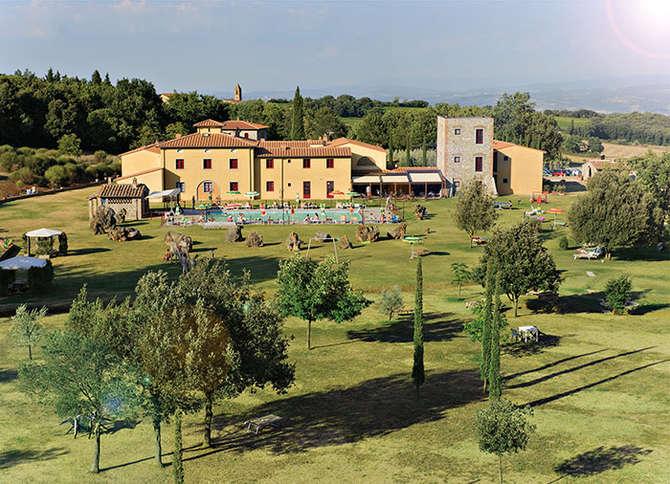 Hotel Casolare le Terre Rosse San Gimignano