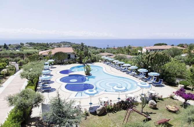 Hotel Residence Il Gattopardo Capo Vaticano