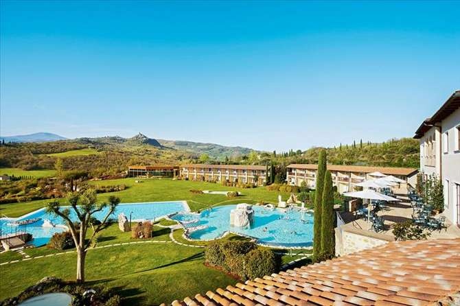 Hotel Adler Thermae Spa Resort Bagno Vignoni