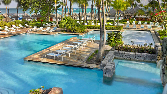 Hyatt Regency Aruba Resort Spa & Casino Palm Beach